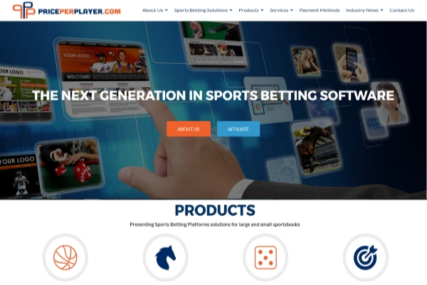 PricePerPlayer.com Rebrands itself with a New Website and Logo
